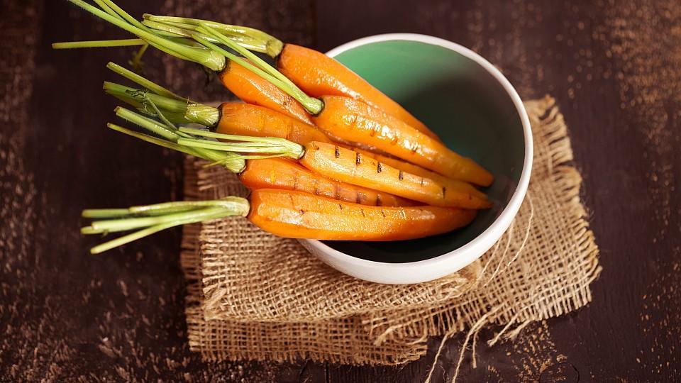 Knackig und gesund: Karotten