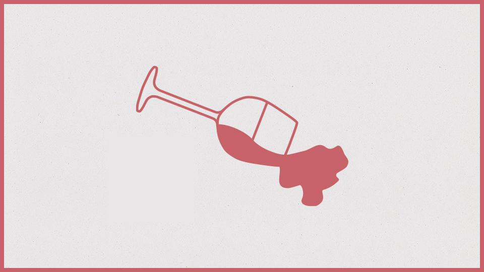 Praktische Hausmittel bei Rotweinflecken