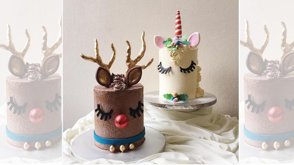 Reindeercakes erobern das Netz und machen Einhorn-Torten Konkurrenz.