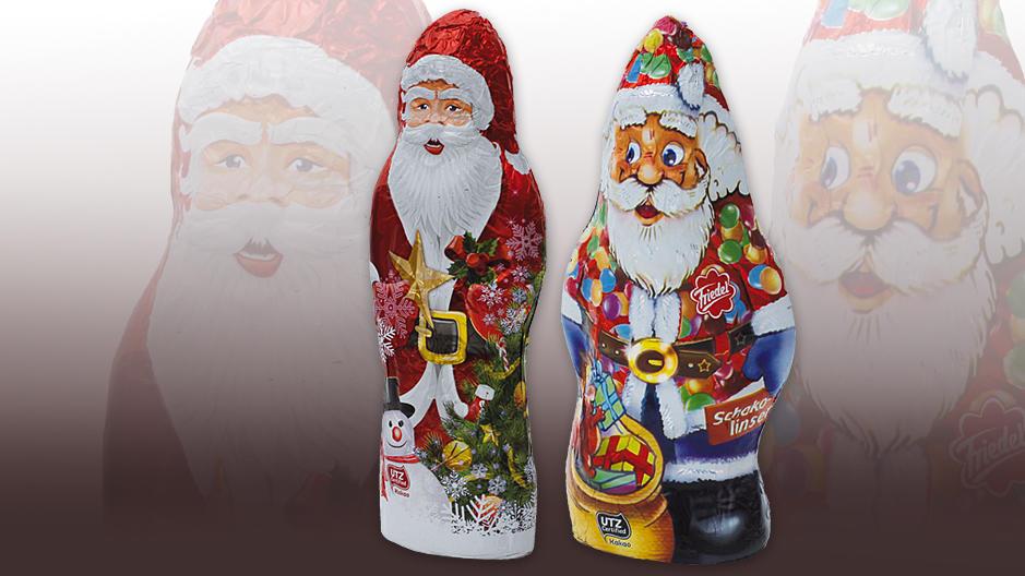 foodwatch Mineralöl Weihnachtsmänner
