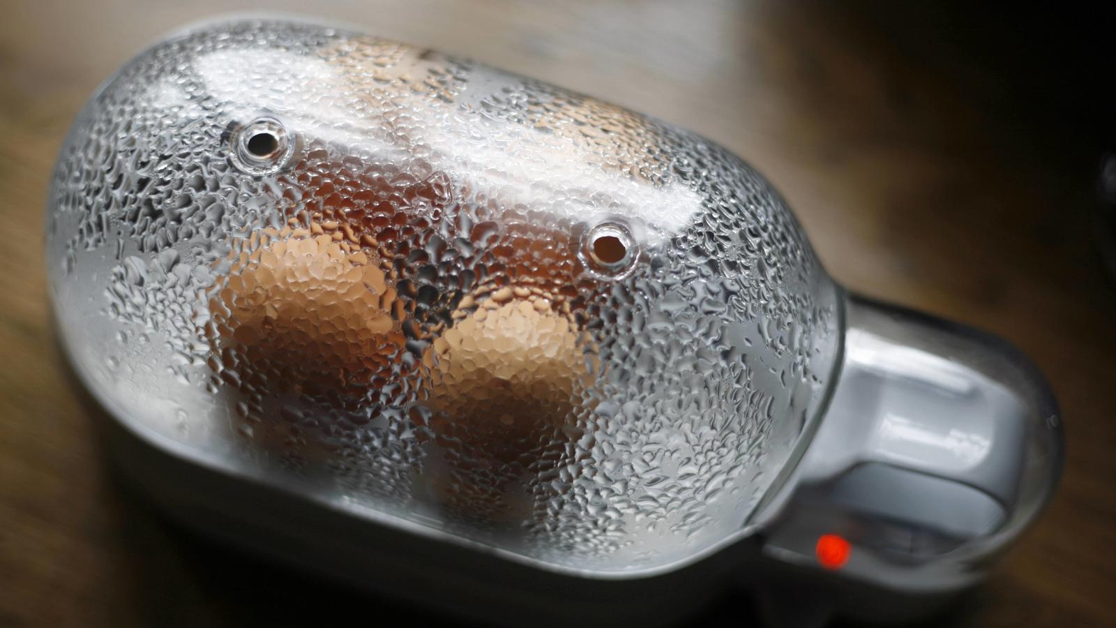 Mit dem eierkocher endlich perfekte fr hst ckseier kochen - Eier kochen wachsweich ...