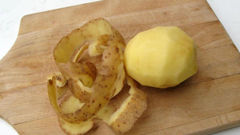 Ist Kartoffelschale giftig?