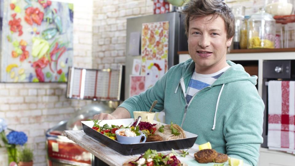 Jamie oliver der 39 naked chef 39 aus gro britannien bekocht die welt - Jamie en 15 minutes ...