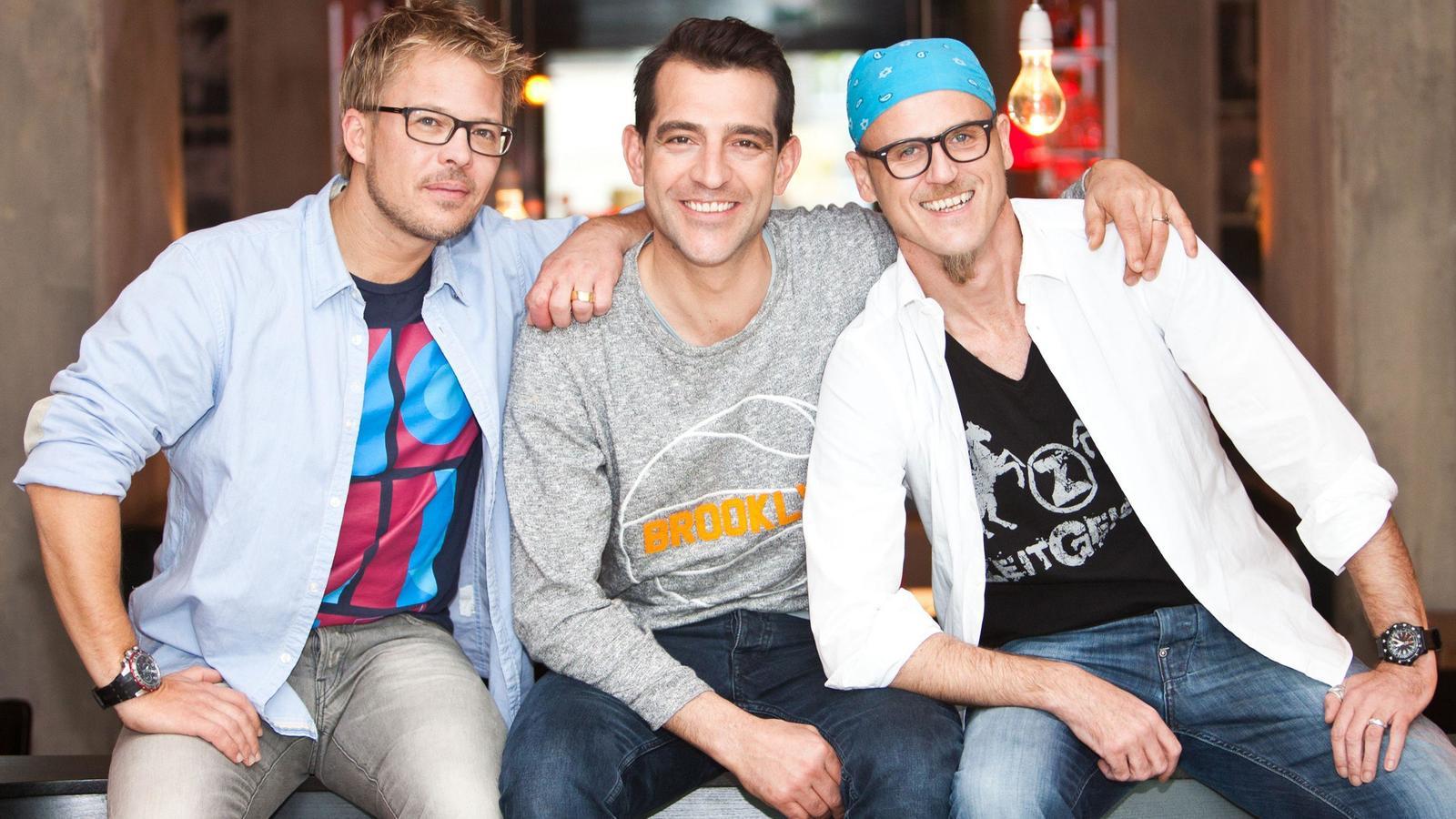 Die Küchenchefs (v.l.): Mario Kotaska, Martin Baudrexel und Ralf Zacherl.