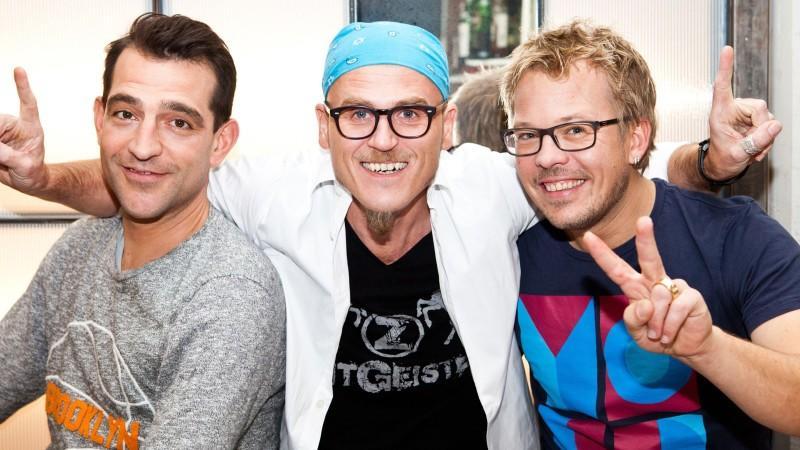Die Küchenchefs (v.l.): Martin Baudrexel, Ralf Zacherl und Mario Kotaska.