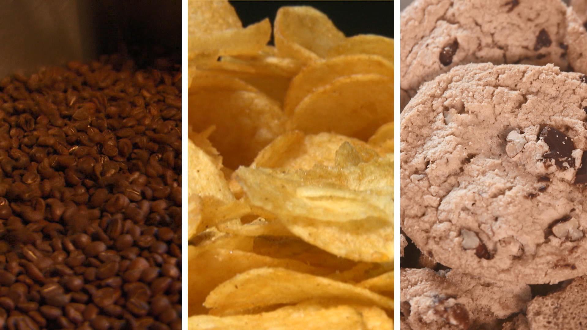 Acrylamid steckt auch in Kaffee, Chips, Keksen und Co.
