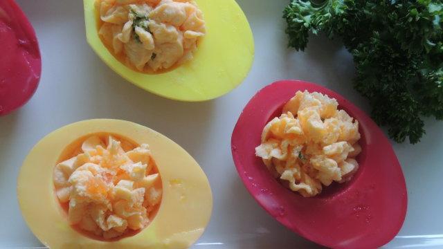 Aus den Oster-Eiern werden tolle Gerichte gezaubert!