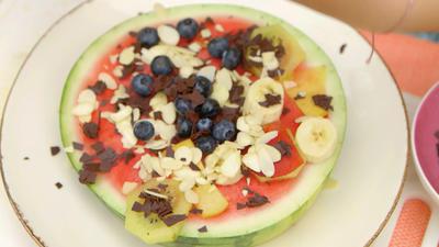 Püppchen Wassereis Und Melonenpizza Rezept Kochbarde