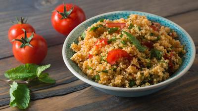 Rezept: Quinoa-Pfanne und Breakfast-Quinoa