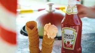 Ketchup-Eis: Schmeckt das auch den Deutschen?