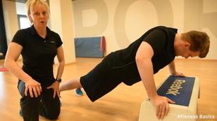 #Fitness Basics - Liegestütze