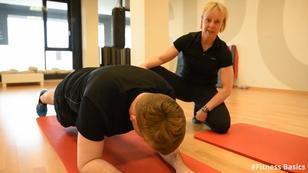 #Fitness Basics - Plank