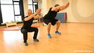 #Fitness Basics - Kniebeuge