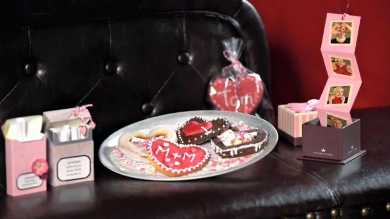 Liebesbotschaft Im Keks Zum Valentinstag Rezept Mit Video Kochbar De
