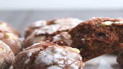 Rezept: Crinkle Cookies