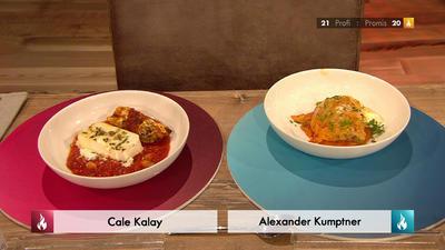 Rezept: Serbische Kohlroulade mit Tomaten-Bohnen-Gemüse (Cale Kalay)