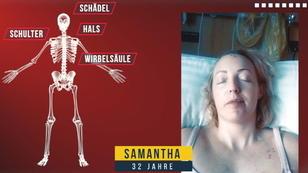 Samantha (32) kämpft sich zurück ins Leben