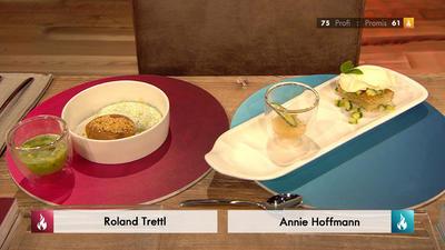 Rezept: Haselnusskuchen mit Zitrone-Gurke-Minze-Crème (Blick in Trettls Topf)