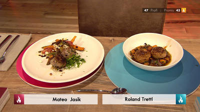 Rezept: Lammboulette mit Süßkartoffeln und Feigen (Mateo Jasik)