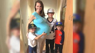 Dreifach-Mama bekommt Sechslinge