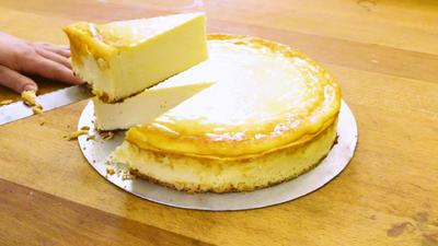 Rezept: Käsekuchen ohne Boden: Angerührt in nur drei Minuten