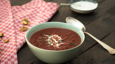 Rezept: Rote Bete Suppe