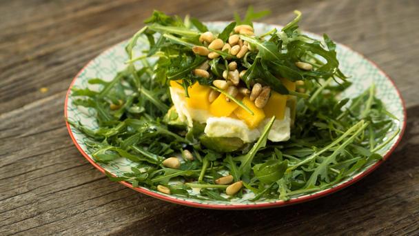 Rezept zucchini mango salat