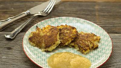 Rezept: Kartoffel:   RÖSTI  schnell selbstgemacht