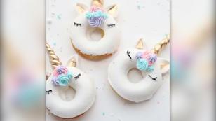Einhorn-Donuts selber machen!