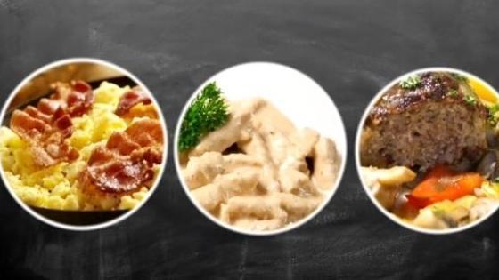 Mikrowellen Essen So Schmecken Frühstück Mittag Und Abendessen