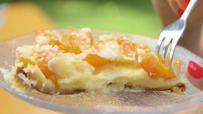 Rezept: Aprikosenkuchen aus der Pfanne