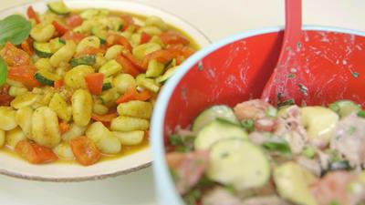 Rezept: Italienische Nudelsalate: Gnocchi-Salat und Tortellini-Salat