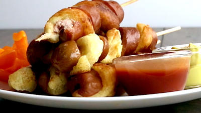 Rezept: Tornado Hot Dogs