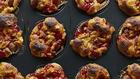 Herzhafte Käse-Würstchen-Cupcakes