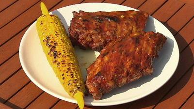 Rezept: Spareribs mit Barbecue- und Asia-Marinade