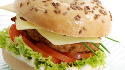 Rezept: BBQ Burger griechisch