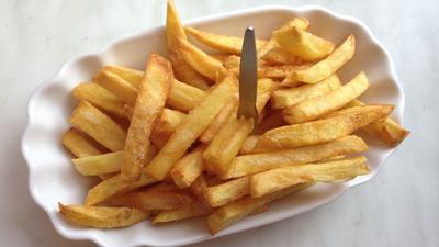 Rezept: Original belgische Fritten (Belgische Pommes frites)