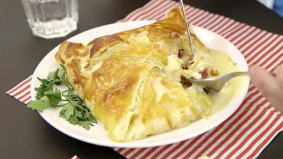 Rezept: Camembert im Blätterteig