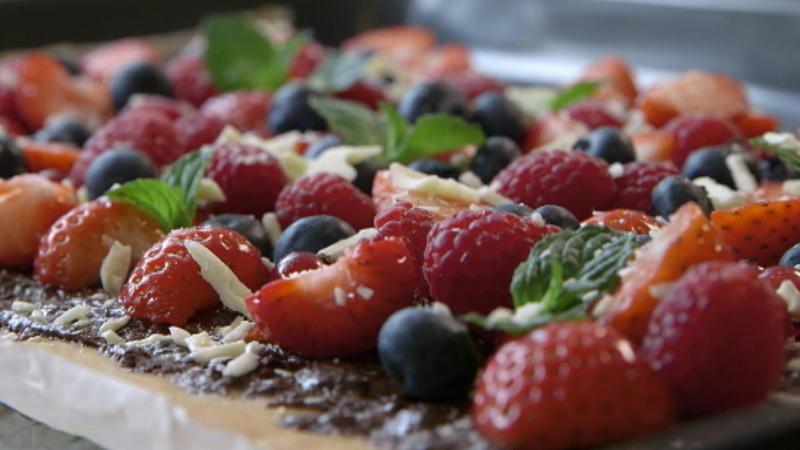 Susse Pizza Pizza Mit Banane Und Pizza Mit Fruchten Rezept Mit