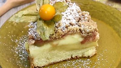 Rezept: Allerbester Rhabarberkuchen♥