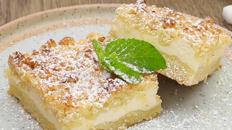 Quarkkuchen Auf Dem Blech Rezept Mit Video Kochbar De