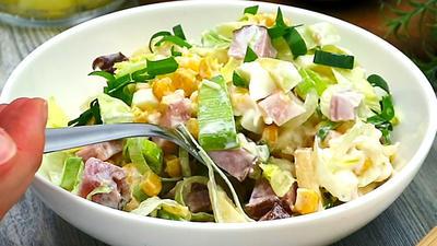 Rezept: Schichtsalat