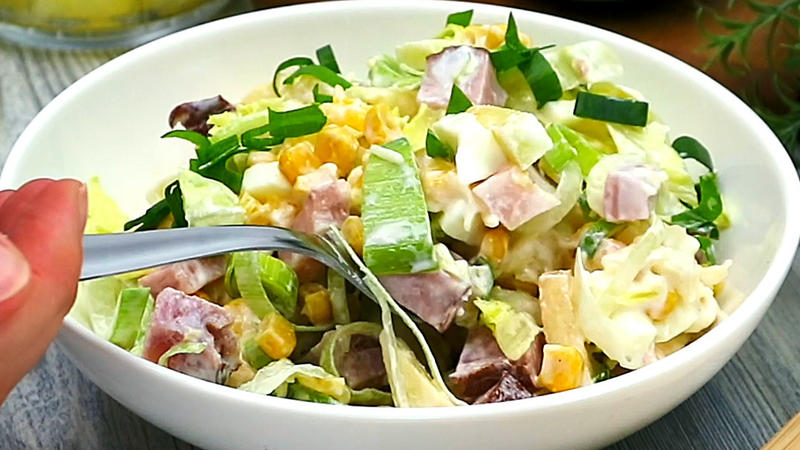 Schichtsalat Beliebt Auf Jeder Party Rezept Mit Video Kochbarde