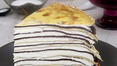 Rezept: Zauberhafter Crêpe-Kuchen