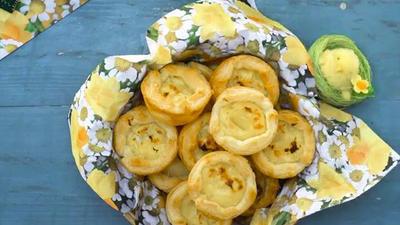Rezept: Portugiesische Puddingtörtchen (Pasteis de Nata)