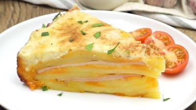 Rezept: Herzhafter Kartoffel-Käse-Kuchen