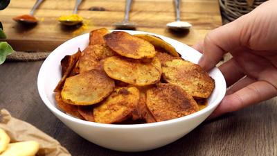 Rezept: Zweierlei Chips