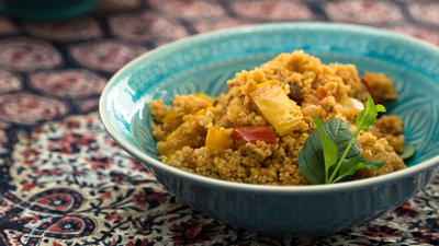 Rezept: Salate: Couscous-Salat ( Türkische kisir )