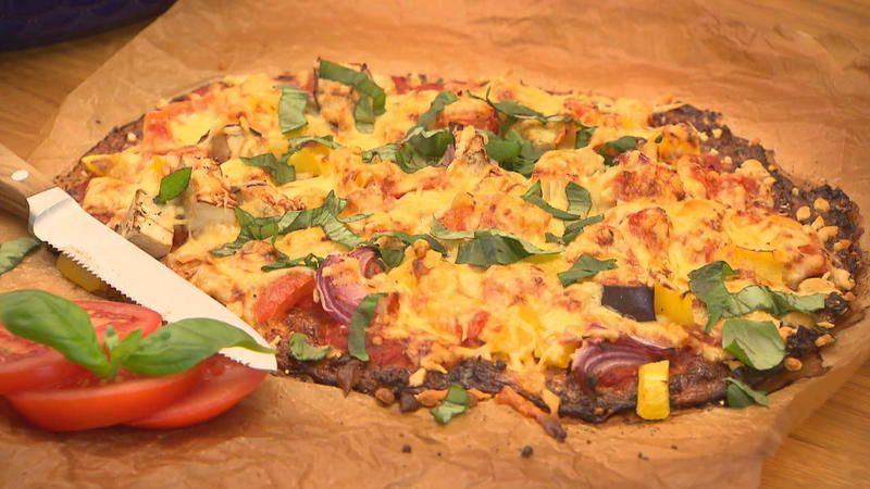 Spinatrolle, Lasagne und Pizza - ganz low carb