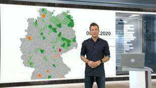 So hat sich das Virus in Deutschland entwickelt